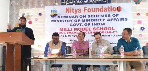 Nitya Foundation Seminar for Minority Affairs