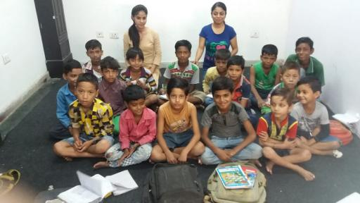 Donate for Poor Child, slum child education in Delhi NCR India