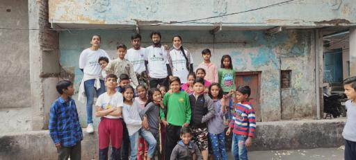 Donate For Poor or Slum Child Education in Delhi NCR, India