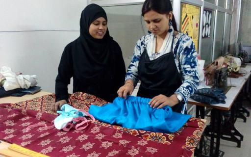 Nitya Foundation Stitching Training in Delhi