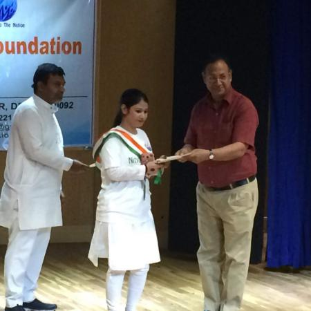 Vande Matram Prize distribution by Nitya Foundation