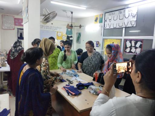Nitya Foundation Stitching Lab